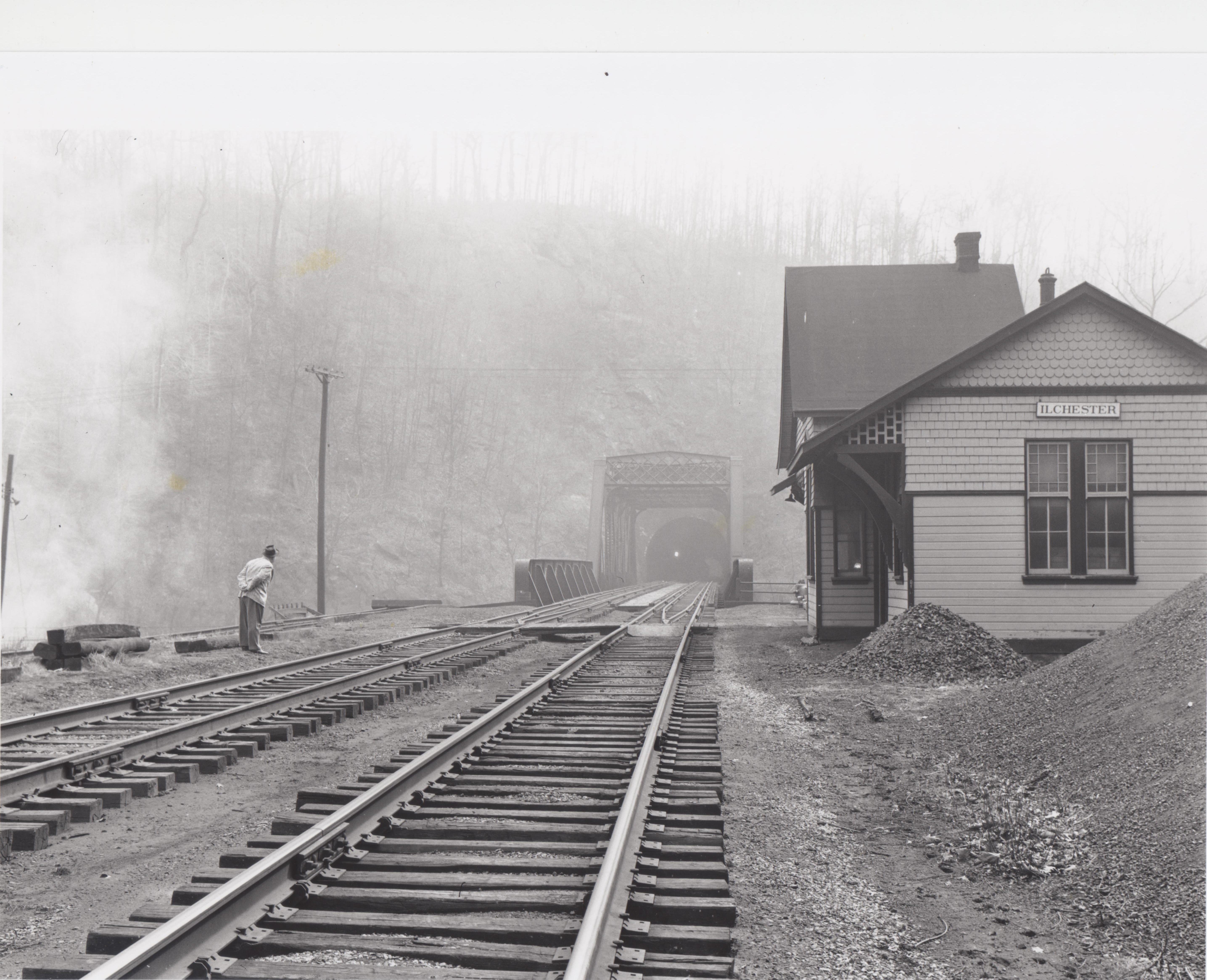 Ilchester Station 1 1959